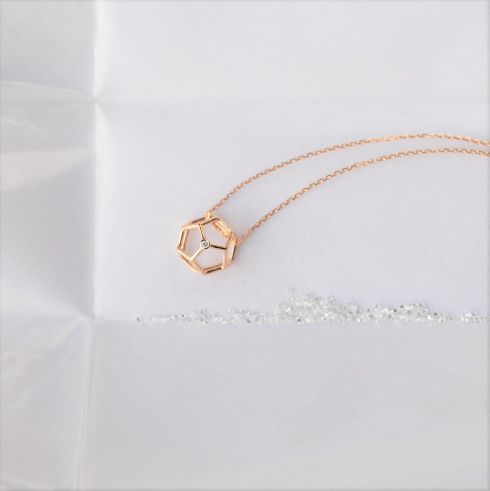 Collier Pentagonal - Lookbook