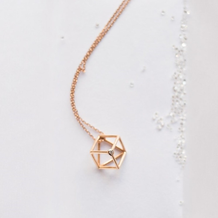 Collier cube - Lookbook 02